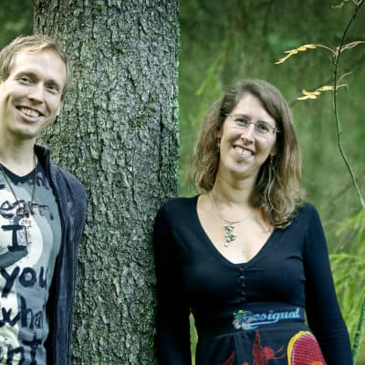 Our team at Gaia Center for Wellbeing: Lisette van Cuijck and Jussi Helaakoski
